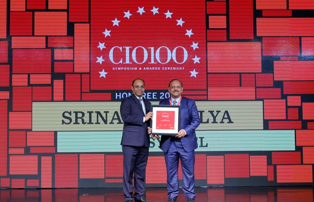 The Digital Architect: Srinath Mallya, Senior Vice President, Syntel, receives the CIO100 award for 2018
