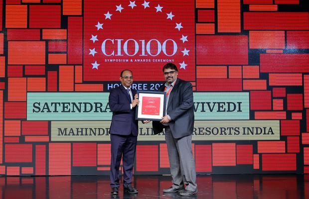 The Digital Architect: Satendra Kumar Dwivedi, Chief Technology Officer, Mahindra Holidays and Resorts, receives the CIO100 award for 2018
