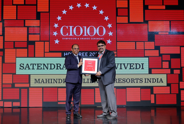 The Digital Architect: Satendra Kumar Dwivedi, Chief Technology Officer, Mahindra Holidays and Resorts, receives the CIO100 award for 2018