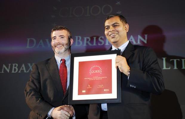 The Agile 100: David Briskman, VP & CIO of Ranbaxy Laboratories receives the CIO100 Award for 2010