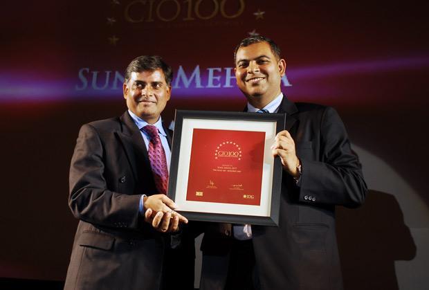 The Agile 100: Sunil Mehta, Sr. VP - Area Systems Director (Central Asia), JWT India receives the CIO100 Awrd for 2010