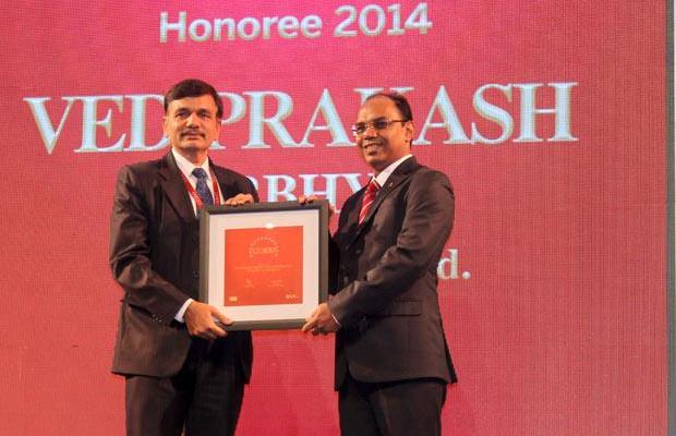 The Dynamic 100: Ved Prakash Nirbhya, CIO at Tech Mahindra receives the CIO100 Award for 2014