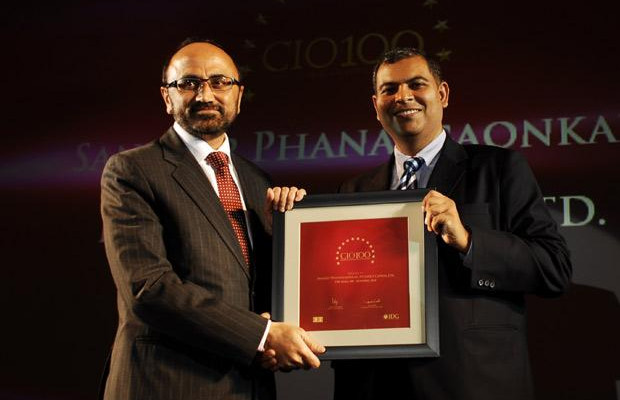 The Agile 100: Sandeep Phanasgaonkar, President & CTO of Reliance Commercial Finance receives the CIO100 Award for 2010