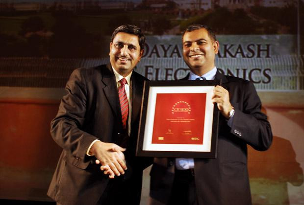 The Agile 100: Daya Prakash, Head-IT, LG Electronics India receives CIO100 Award for 2010