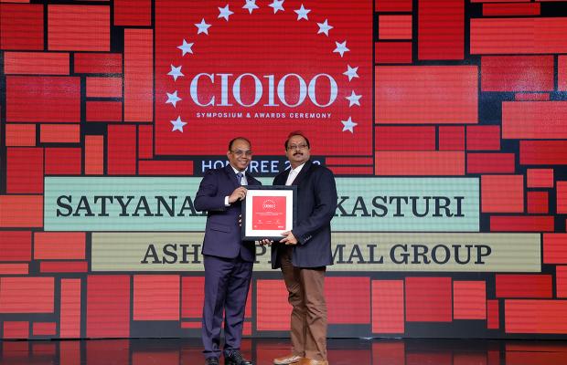 The Digital Architect: Satyanarayana Kasturi, Group IT Head, Ashok Piramal Group, receives the CIO100 award for 2018