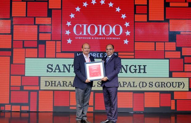 The Digital Architect: Santosh Singh, Vice President - IT, Dharampal Satyapal, receives the CIO100 award for 2018