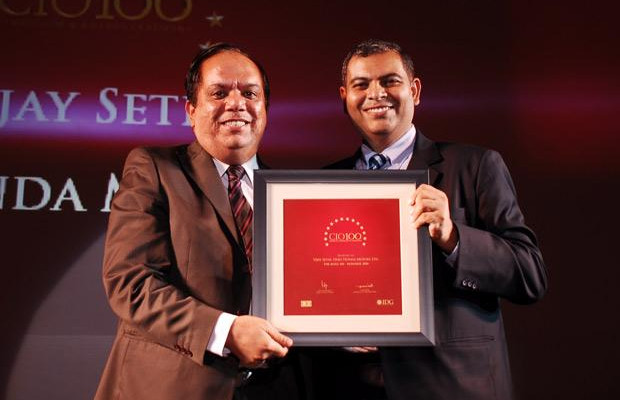 The Agile 100: Vijay Sethi, VP & CIO of Hero MotoCorp receives the CIO100 Award for 2010