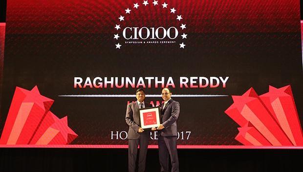 The Digital Innovators: S Raghunatha Reddy, Executive VP at UTI Asset Management receives the CIO100 Award for 2017