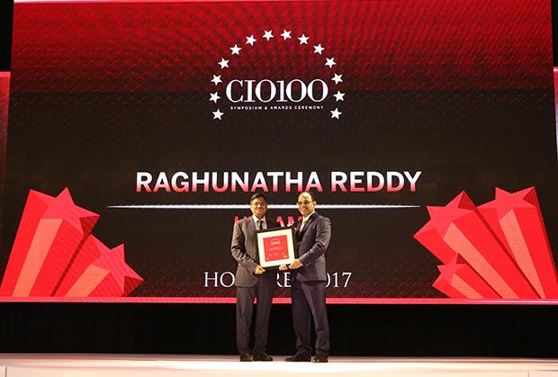 The Digital Innovators: S Raghunatha Reddy, Executive VP at UTI Asset Management receives the CIO100 Award for 2017