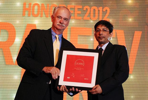 The Resilient 100: Rajeev Batra, CIO of Sistema Shyam Teleservices receives the CIO100 Award for 2012