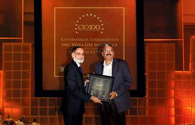 The Ingenious 100: Ravishankar Subramnian, IT- Director, Exide Life Insurance receives CIO100 Award for 2009