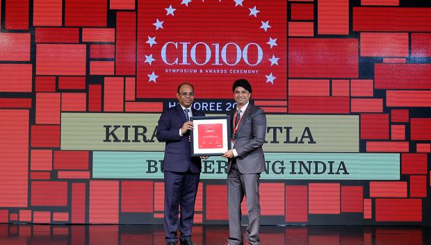 The Digital Architect: Kiran Komatla VP IT (Head IT) at Burger King India receives the CIO100 Award for 2018