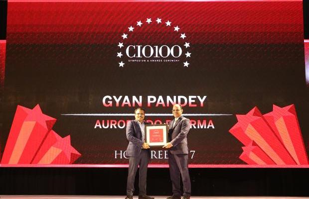 The Digital Innovators: Gyan Pandey, CIO of Aurobindo Pharma receives the CIO100 Award for 2017