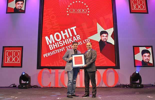 The Transformative 100: Mohit Bhishikar, CIO, Persistent Systems receives the CIO100 Award for 2016