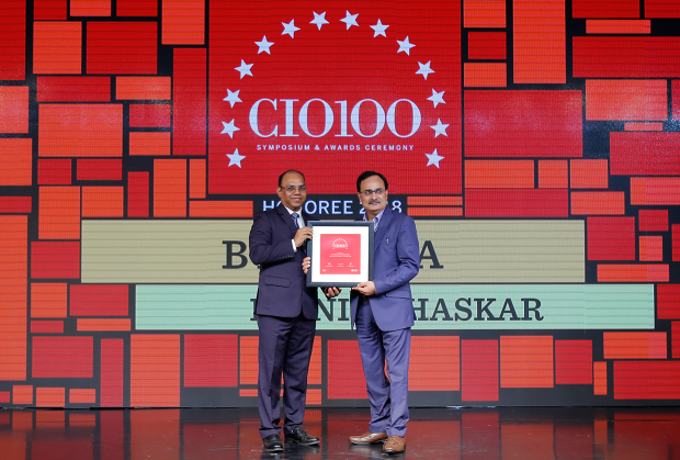 The Digital Architect: B K Arora, GM–Technology at Dainik Bhaskar receives the CIO100 Award for 2018
