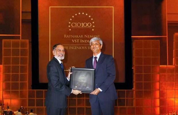The Ingenious 100: Ratnakar Nemani, Head IT of VST Industries receives the CIO100 Award for 2009