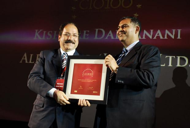 The Agile 100: Kishore Daryanani, CIO of Alfa Laval receives the CIO100 Award for 2010