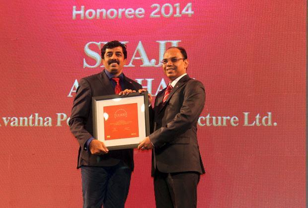 The Dynamic 100: Shaji Abraham, CIO of Avantha Power and Infrastructure receives the CIO100 Award for 2014