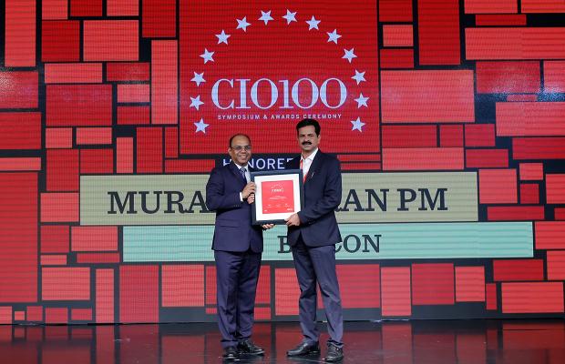 The Digital Architect: Muralidharan PM, Associate Director–IT, Biocon receives the CIO100 Award for 2018