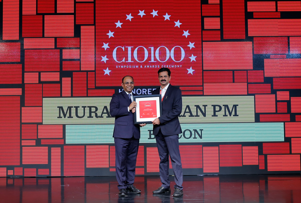 The Digital Architect: Muralidharan PM, Associate Director–IT, Biocon receives the CIO100 Award for 2018