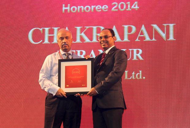 The Dynamic 100: Chakrapani Perangur, CIO of Indus Towers receives the CIO100 Award for 2014