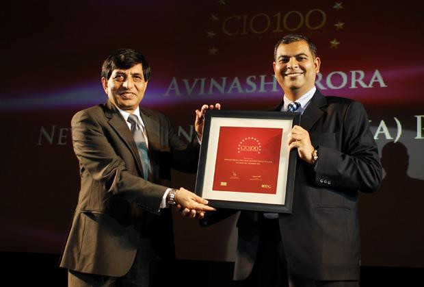 The Agile 100: Avinash Arora, Director- Supply Chain Management at New Holland Fiat (India) receives the CIO100 Award for 2010