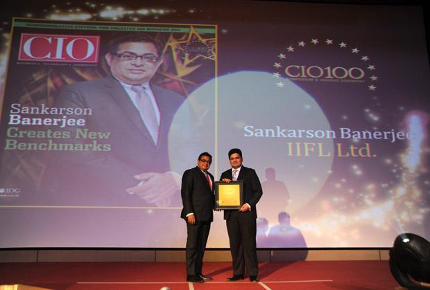 The Creative 100: Sankarson Banerjee, GM at India Infoline receives the CIO100 Award for 2011