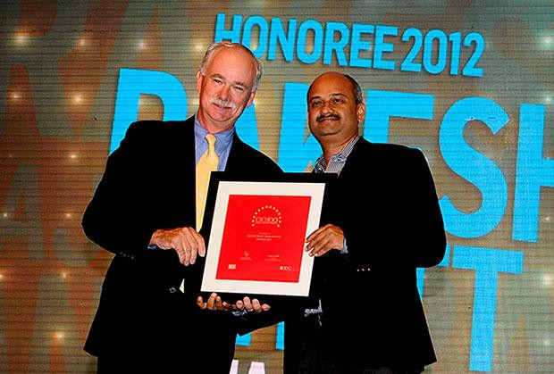 The Resilient 100: Rakesh Bhatt, COO, Bajaj Finance receives CIo100 Award for 2012