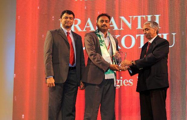 Business Transformer: Prasanth Puliakottu, CIO of Sterlite Technologies receives the CIO100 Special Award for 2014 in association with CtrlS