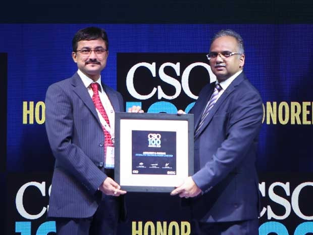 Abhijeet S Pathak, Lead – Information Security at Sterlite Technologies, receives the CSO100 Award for 2019