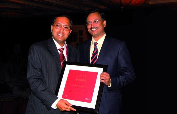 The Giant 100: Jai Menon, Director - IT Innovations, Bharti Airtel receives the CIO100 Award for 2006