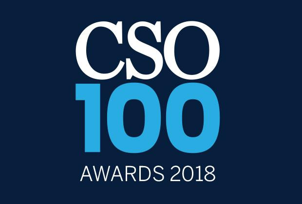 Mathan Babu Kasilingam, CISO at National Payments Corporation of India felicitated with the CSO100 Award for 2018