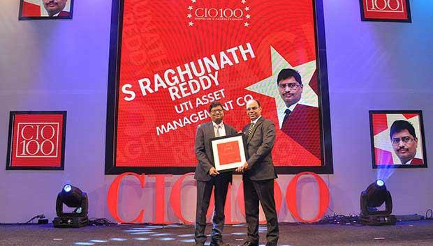 The Transformative 100: S Raghunatha Reddy, Executive VP at UTI Asset Management receives the CIO100 Award for 2016