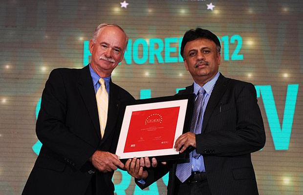 The Resilient 100: Sanjeev Prasad, COO of Genpact India receives the CIO100 Award for 2012