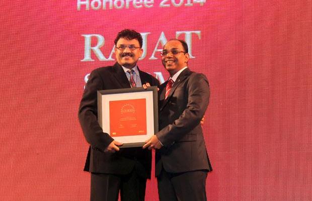 The Dynamic 100: Rajat Sharma, President-IT of Atul receives the CIO100 Award for 2014