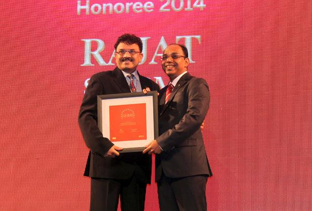 The Dynamic 100: Rajat Sharma, President-IT of Atul receives the CIO100 Award for 2014