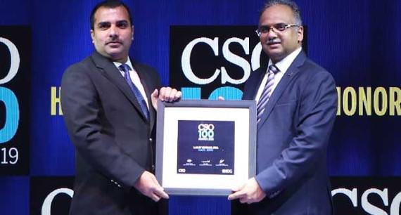 Lalit Kumar Jha, DGM-IT of Gati-KWE, receives CSO100 Award for 2019