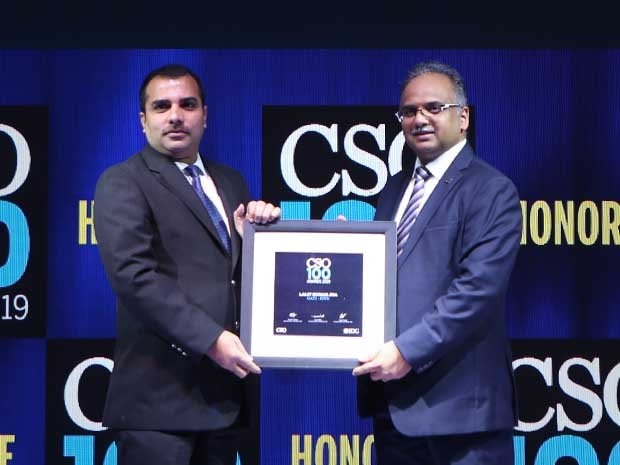 Lalit Kumar Jha, DGM-IT of Gati-KWE, receives CSO100 Award for 2019