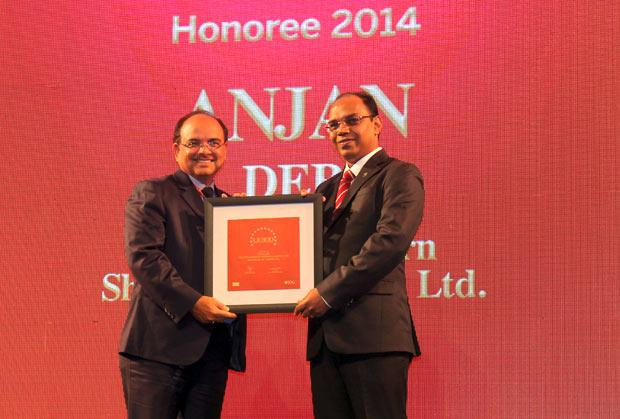 The Dynamic 100: Anjan Deb, Head-IT of The Great Eastern Shipping Co receives the CIO100 Award for 2014