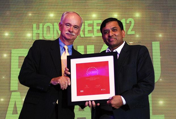 The Resilient 100: Pankaj Agrawal, Head-Governance and CISO of Aircel receives the CIO100 Award for 2012