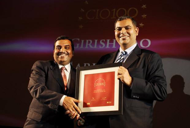 The Agile 100: Girish Rao, Head IT of Marico receives the CIO100 Award for 2010