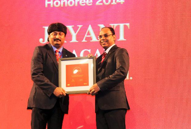 The Dynamic 100: Jayant Magar, VP-IT and Group CIO of AMW Motors receives the CIO100 Award for 2014