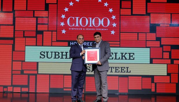 The Digital Architect: Subhash Shelke, VP, Essar Steel, receives the CIO100 award for 2018