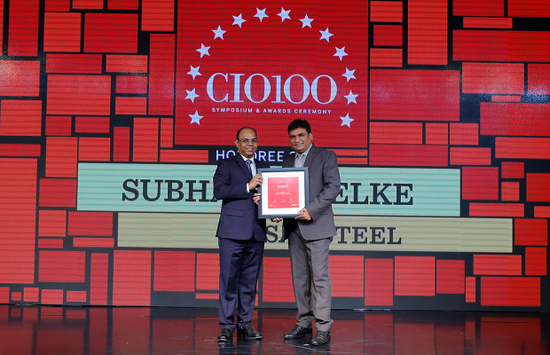 The Digital Architect: Subhash Shelke, VP, Essar Steel, receives the CIO100 award for 2018