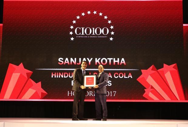 The Digital Innovators: Sanjay Kotha, Senior VP and CIO of Hindustan Coca-Cola Beverages receives the CIO100 Award for 2017