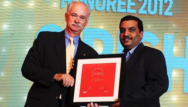 The Resilient 100: Girish Rao, Head IT of Marico receives the CIO100 Award for 2012