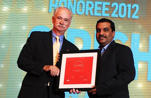 The Resilient 100: Girish Rao, Head IT of Marico receives the CIO100 Award for 2012