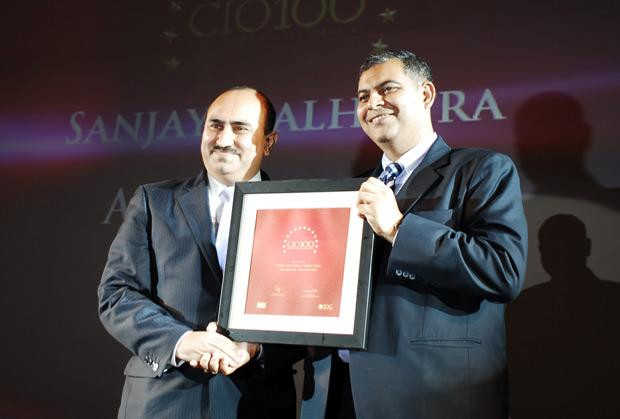 The Agile 100: Sanjay Malhotra, VP-IT, BS and Ebiz of Amway India Enterprises receives the CIO100 Award for 2010