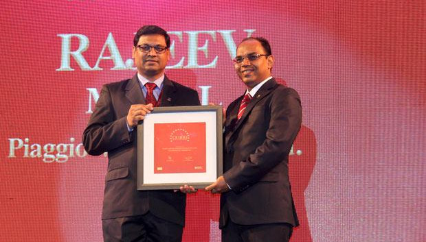 The Dynamic 100: Rajeev Mittal, HEAD IT&IS Piaggio Vehicles receives the CIO100 Award for 2014