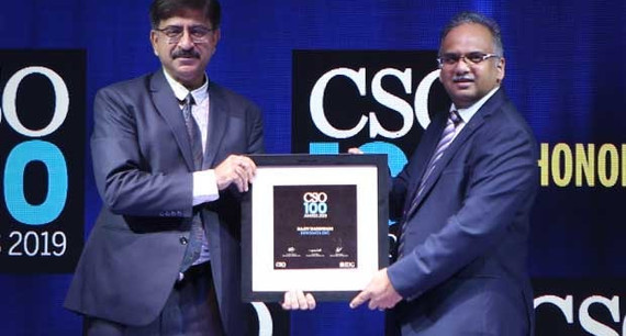 Rajiv Nandwani, VP - global Information Security & CISO at Innodata receives the CSO100 Award for 2019